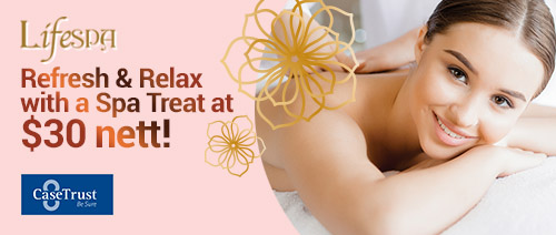 LifeSpa - Enjoy ONE of these Spa Treats at $30 nett