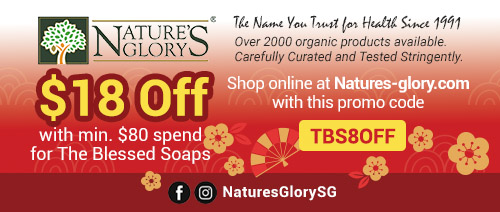 Nature's Glory - $18 off with min. $80 spend for The Blessed Soaps