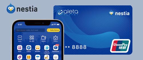 Nestia - Get $5 when you activate Nestia Virtual Card