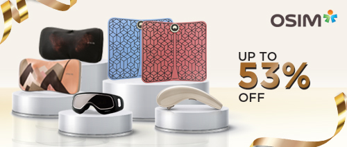 OSIM - New Year Exclusive Deals up to 53% off