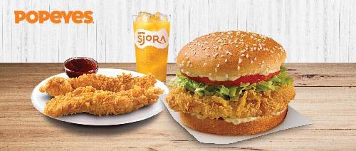 Popeyes SG - Chicken n Tenders Set @ $7.50
