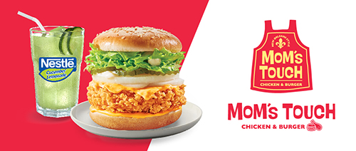 Mom's Touch Chicken & Burger - SG Cheesy Lover Set @ $6.50