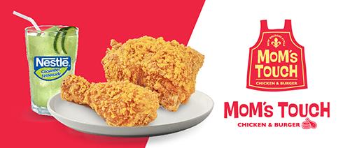Mom's Touch Chicken & Burger - SG Chicken Lover Set @ $6.50