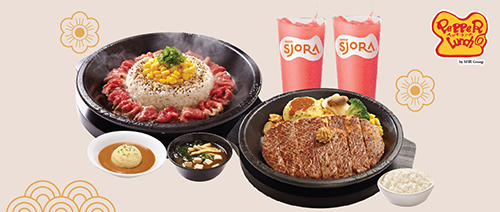 Pepper Lunch - Festive GIANT Bundle Meal for 2