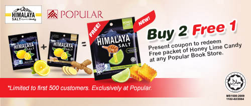 Himalaya Salt Sports Candy - Buy 2 Free 1