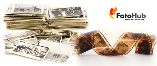 FotoHub - Scan your old photographs into digital copies for as low as $0.30