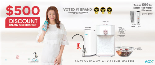 AOX - $500 off AOX award-winning compac series water dispensers