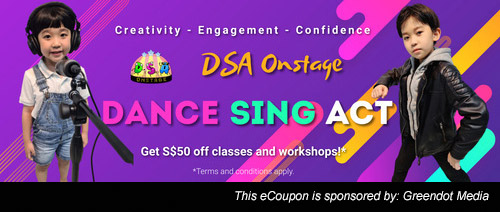 DSA Onstage - Get S$50 off classes and workshops