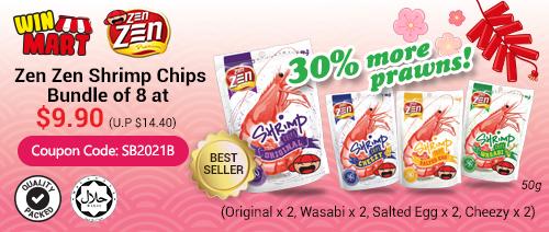 Winmart - Zen Zen Shrimp Chips bundle offer