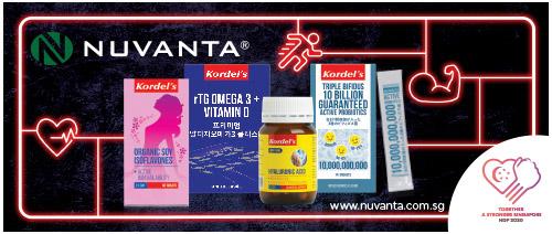 Nuvanta.com.sg - Get $5 off $55 purchase