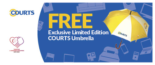 COURTS - Free Exclusive Limited Edition Gift!