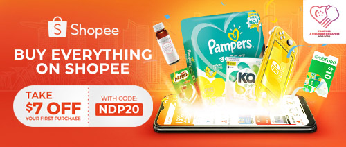 Shopee Singapore - Enjoy $7 off your first purchase