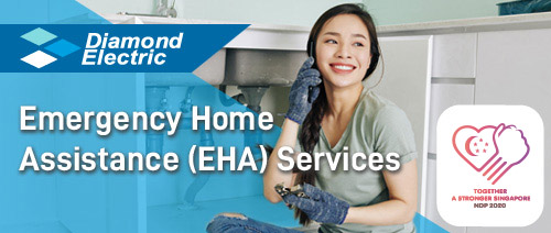 Diamond Electric - Get Diamond Electric EHA for only $1 per month!