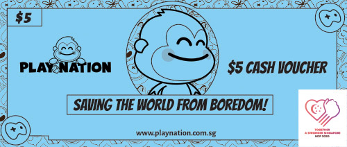Play Nation - Get $5 off Gaming Packages