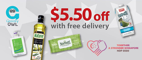 Grocery Owl - $5.50 Off with Free Delivery