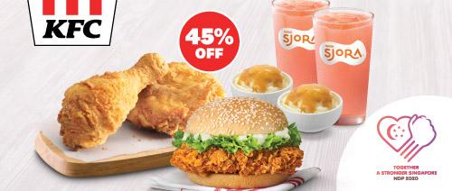 KFC - Zinger Buddy Set $12.55