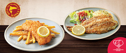 The Manhattan FISH MARKET - 2 for $14.90 (u.p. $28.80)