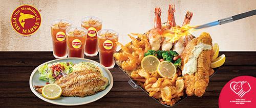 The Manhattan FISH MARKET - $39.90 NDP Feast (u.p. $68.80)