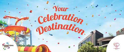 Downtown East - 20% OFF all Celebration Packages