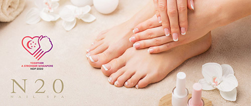 N20 Nail Spa - 55% off all services