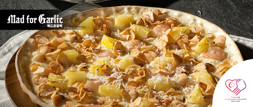 Mad for Garlic - Free Pizza with minimum purchase of $30 on a la carte menu items