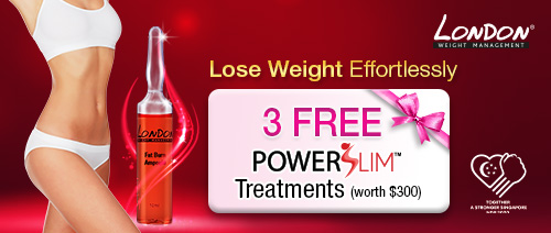 London Weight Management - 3 Free Powerslim™ Treatment (U.P. $300)