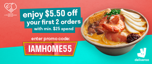 Deliveroo - Enjoy $5.50 off your first 2 orders