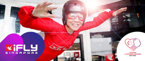 iFly Singapore - Let's fly again soon as #SGUNiTED iFLY SINGAPORE cheers Singapore on!
