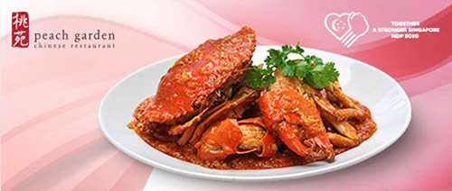Peach Garden Chinese Restaurant - 1-For-1 Signature Chilli Crab