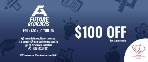 Future Achievers Hub - $100 Off Classes
