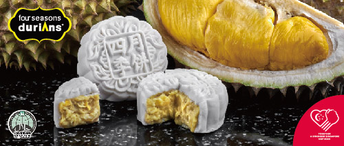 Four Seasons Durians - Get 50% off Mao Shan Wang Mooncakes!