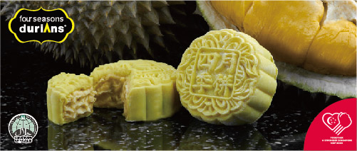 Four Seasons Durians - Get 50% off D24 Mooncakes!