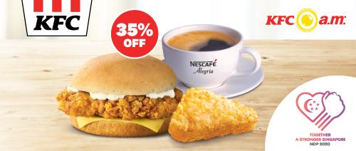 KFC - Riser Value Meal at $4.55