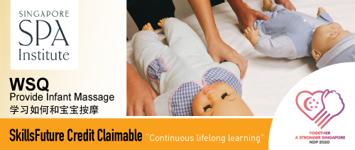 Singapore Spa Institute - WSQ Provide Infant Massage