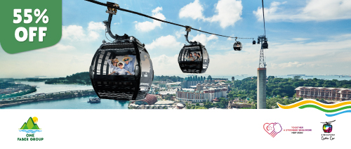 One Faber Group - Enjoy 55% off Singapore Cable Car Sky Pass (Round Trip)