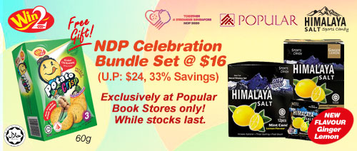 Win2 Food - NDP Celebration Bundle Set  @ $16 (Usual Price: $24, 33% Savings)