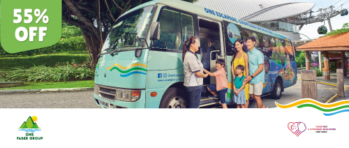 One Faber Group - Enjoy 55% off Sentosa Island Bus Tour