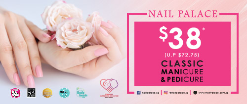 Nail Palace - $38 Classic Manicure + Classic Pedicure (UP: $72.75)