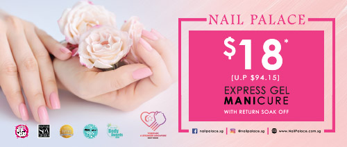 Nail Palace - $18 Express Gel Manicure with Return Soak Off (U.P. $94.15)