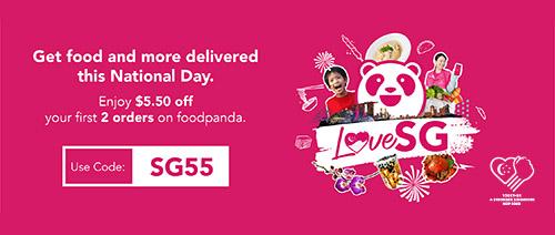 foodpanda - Get $5.50 off your first 2 orders on foodpanda. Use code: SG55