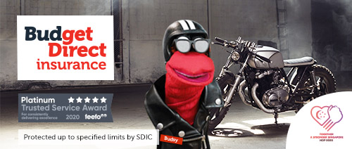 Budget Direct Insurance - Get $20 Shopping Vouchers* with Comprehensive Motorcycle Insurance