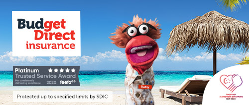 Budget Direct Insurance - Get $20 Shopping Vouchers* with Comprehensive Annual Travel Insurance