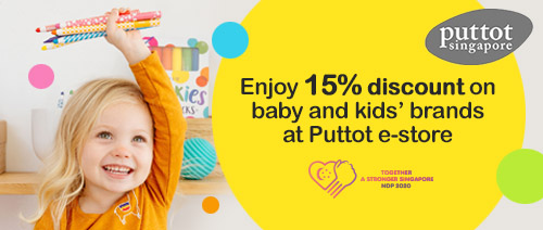 Puttot Singapore - Enjoy 15% discount on baby and kids' brands at Puttot e-store