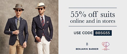 Benjamin Barker - 55% off Suits